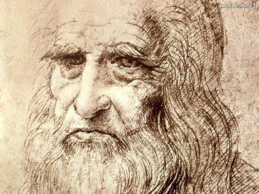 Leonardo da Vinci, portrait