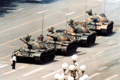 Jeff Widener, Tank man, 1989